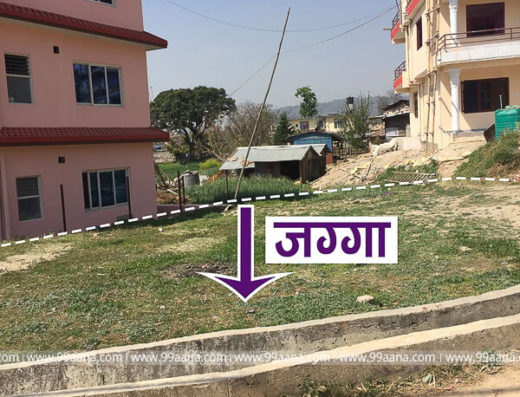 Residential land for sale at Nayapati Gokarneshwor