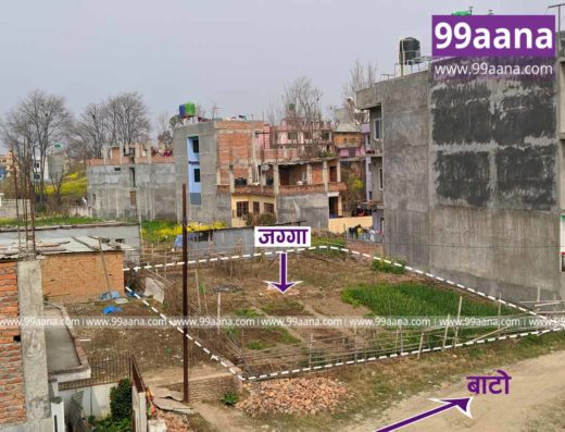 Land for sale at Mahalaxmi height-07, Tikathali, Lalitpur-3296